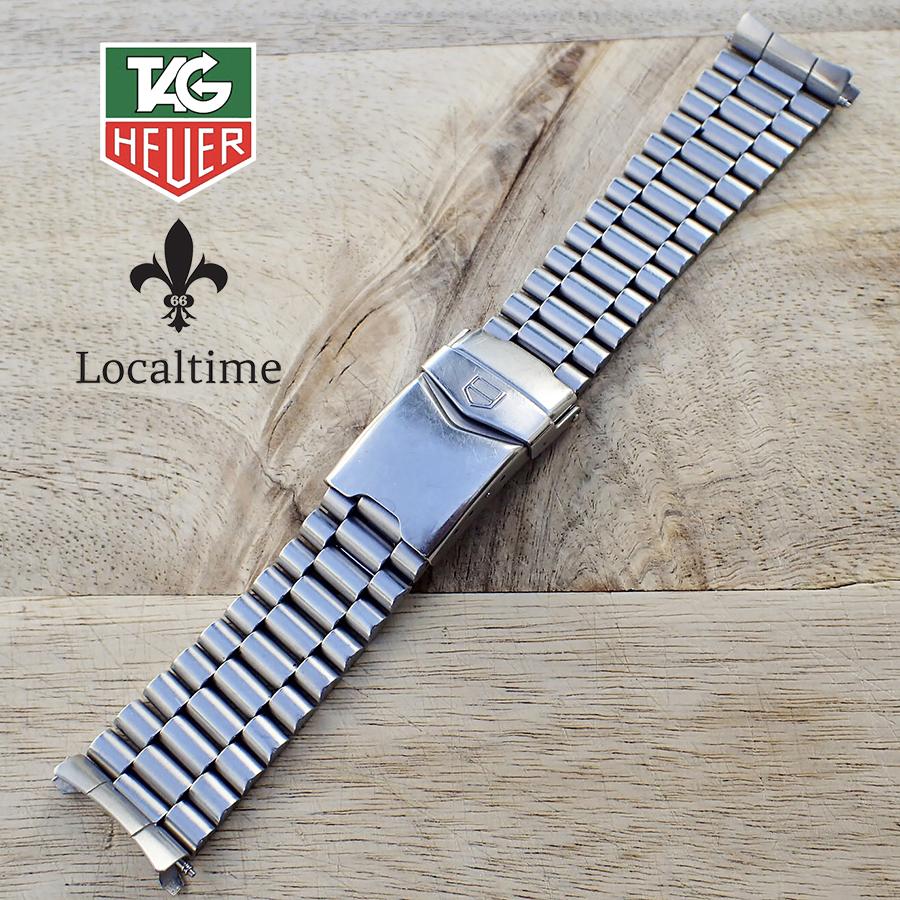 20mm TAG HEUER (Swiss) Stainless Steel Watch Bracelet 325/81 – Length 15.25cm/21.50cm/24cm