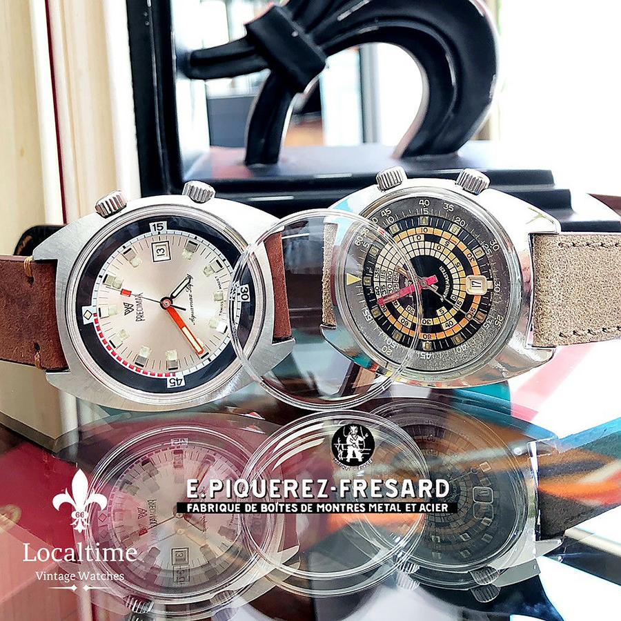 Replacement Plexiglass For 42mm EPSA Super Compressor Vintage Watches