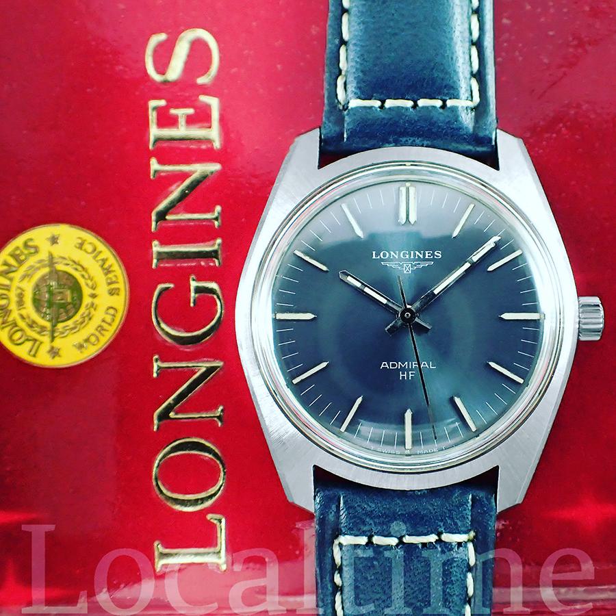 June 1972 LONGINES (Swiss) Ref. 2301-1 Admiral HF Steel Dress Watch, 17j Longines Cal. 6942 – Box & Papers