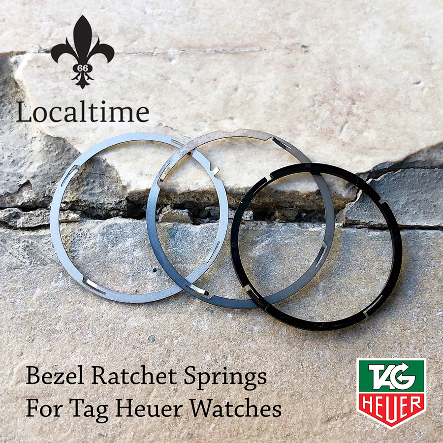 Ratchet Bezel Springs For TAG HEUER Watches – Swiss Made Service Replacement
