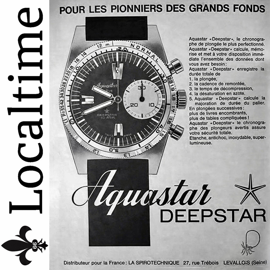 Replacement Armoured Plexi Glass To Fit Aquastar Deepstar Chronograph Watches – Double High Dome