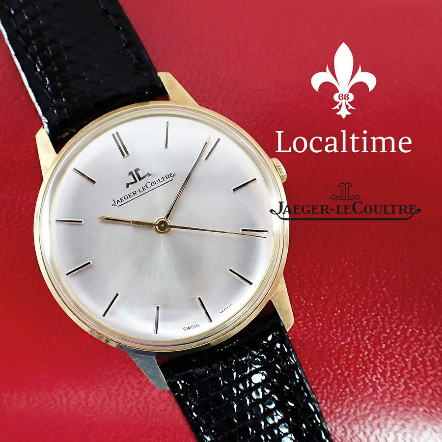 1967 Jaeger-LeCoultre (Swiss) Ref. 20002/21002 18k Gold Case Gents Dress Watch – 18j JLC Cal. K885 SN1920818