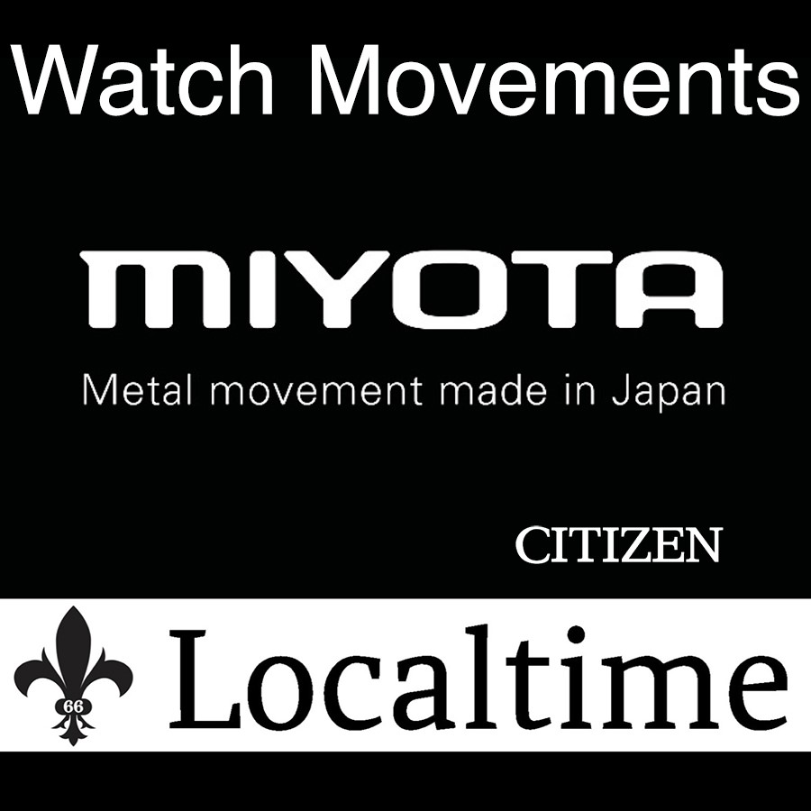 MIYOTA by CITIZEN (Japan) Brand New Complete Watch Movements Service Replacement